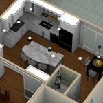 Dollhouse Overview of Kitchen Remodeling Designs in Warren NJ (1)-Design Build Planners