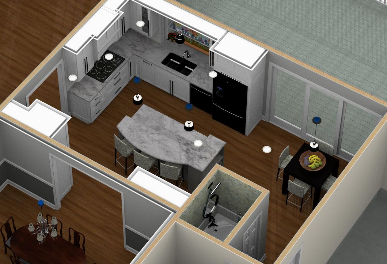 Dollhouse Overview Of Kitchen Remodeling Designs In Warren Nj 1 Design Build Pros