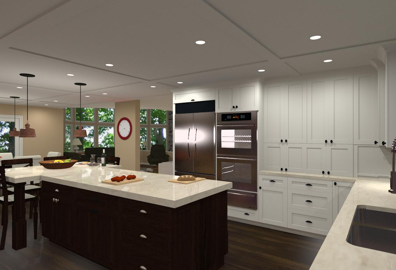 Kitchen Remodeling In Warren Nj Round To Rectangle