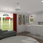 Laundy Room Design Options Plan 1 (3)-Design Build Planners