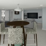 CAD of Bar Area Plan 2 Basement Finishing Options in Warren (1)-Design Build Planners (1)