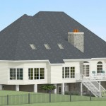 CAD of Exterior in Millstone NJ (1)-Design Build Planners