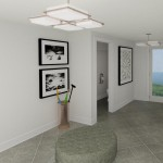 CAD of Laundry Area Plan 2 Basement Finishing Options in Warren (1)-Design Build Planners