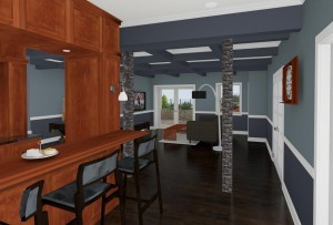 CAD of a Basement in Millstone NJ (2)-Design Build Pros