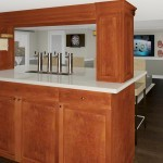 Computer Aided Design of Bar Plan 3 Basement Finishing in Warren NJ (1)-Design Build Planners