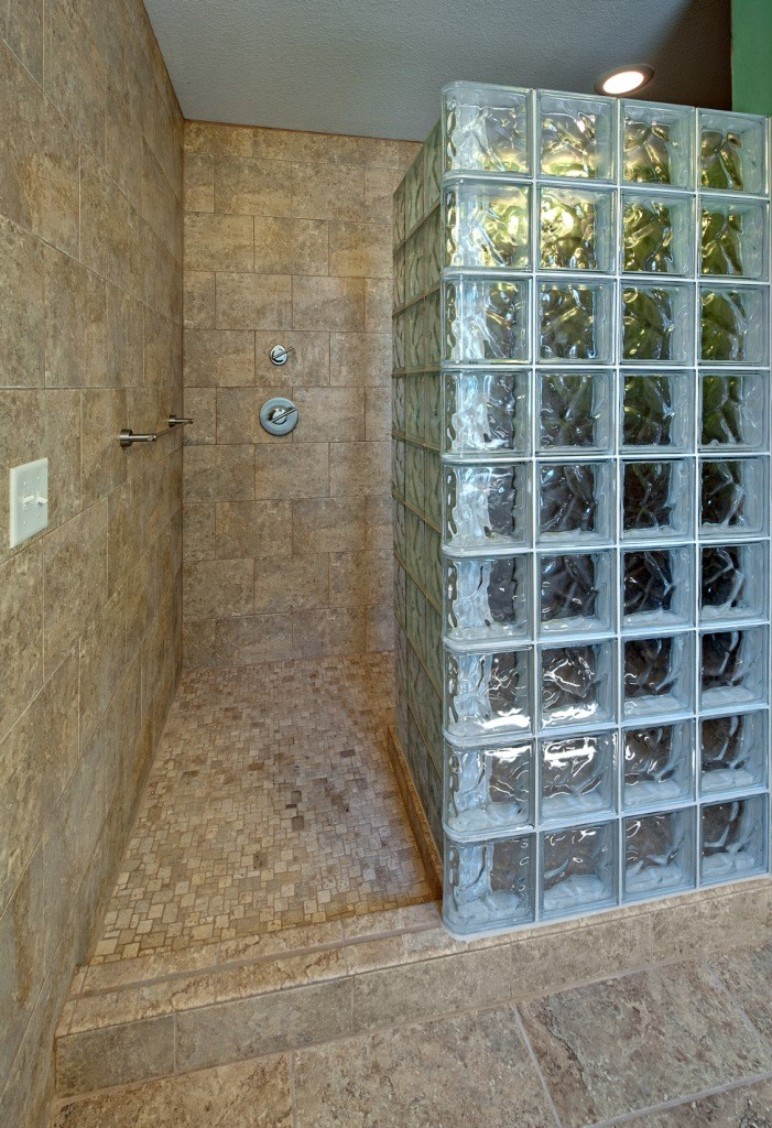 Superieur Glass Block For Bathroom Remodeling ~ Design Build Pros (2)