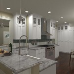 Kitchen and Bathroom Remodel in Spring Lake NJ Plan 2 (8)-Design Build Planners