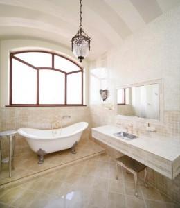 Vintage bathroom ~ Design Build Pros
