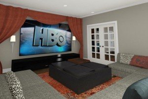 Basement Remodeling Project Design from Design Build Planners