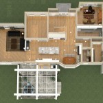 Dollhouse Overview of a Kitchen Remodel and More in Whitehouse Station NJ Plan 1 (2)-Design Build Planners