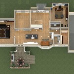 Dollhouse Overview of a Kitchen Remodel and More in Whitehouse Station NJ Plan 2 (3)-Design Build Planners