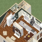 Dollhouse Overview of a Kitchen and Bathroom Remodel in Spring Lake, NJ (2)-Design Build Planners