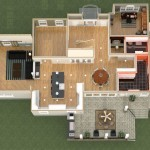 Dollhouse Overview of a Kitchen and More in Whitehouse Station NJ Plan 3 (2)-Design Build Planners
