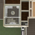 Dollhouse Overview of a Kitchen and More in Whitehouse Station NJ Plan 3 (4)-Design Build Planners