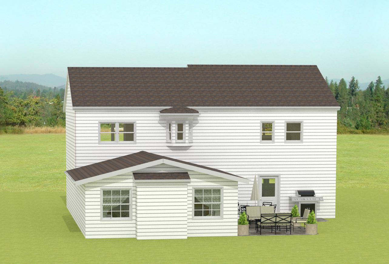 Great room addition in monmouth county nj design build for Great room addition