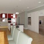 Kitchen Remodel and More in Whitehouse Station NJ Plan 2 (7)-Design Build Planners