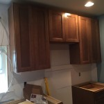 Kitchen Remodel in Rutherford In Progress 5-7-2015 (4)