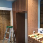 Kitchen Remodel in Rutherford In Progress 5-7-2015 (5)