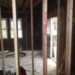 Kitchen and Bathroom Remodel in Spring Lake In Progress 4-28-2015 (1)