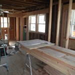 Kitchen and Bathroom Remodel in Spring Lake In Progress 5-4-2015 (10)