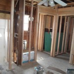 Kitchen and Bathroom Remodel in Spring Lake In Progress 5-4-2015 (2)