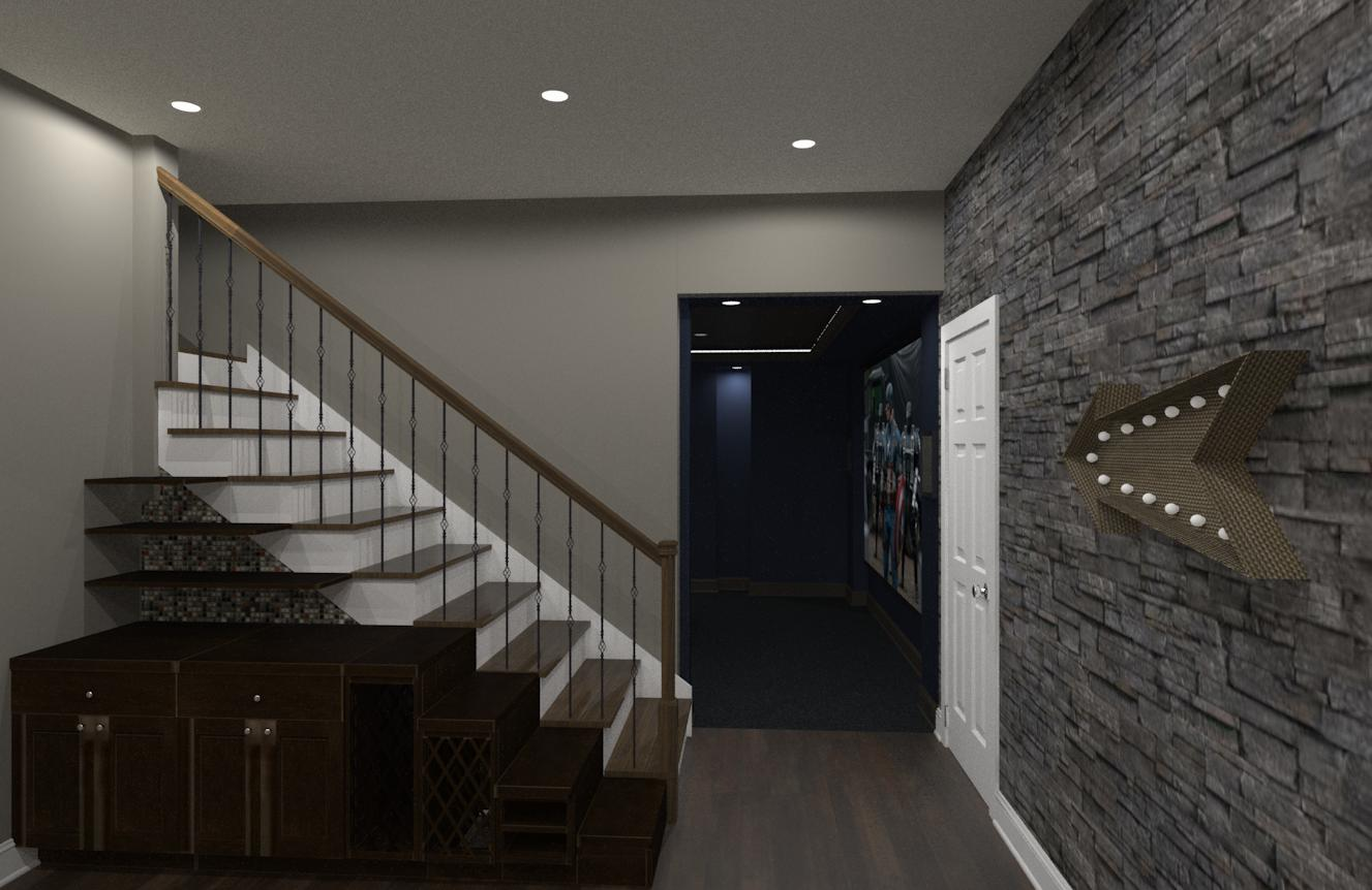 Luxury Basement Designs Somerset County Design Build Planners