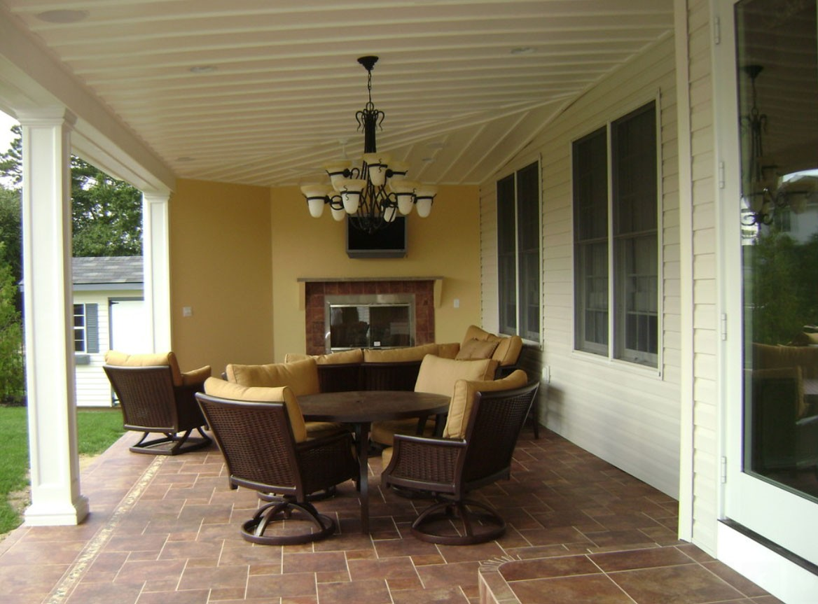 Outdoor Living Space In Middletown NJ Houzz Pic 2 Design Build Pros