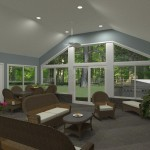 Outdoor Living Space in Morristown NJ Plan 1 (2)-Design Build Planners