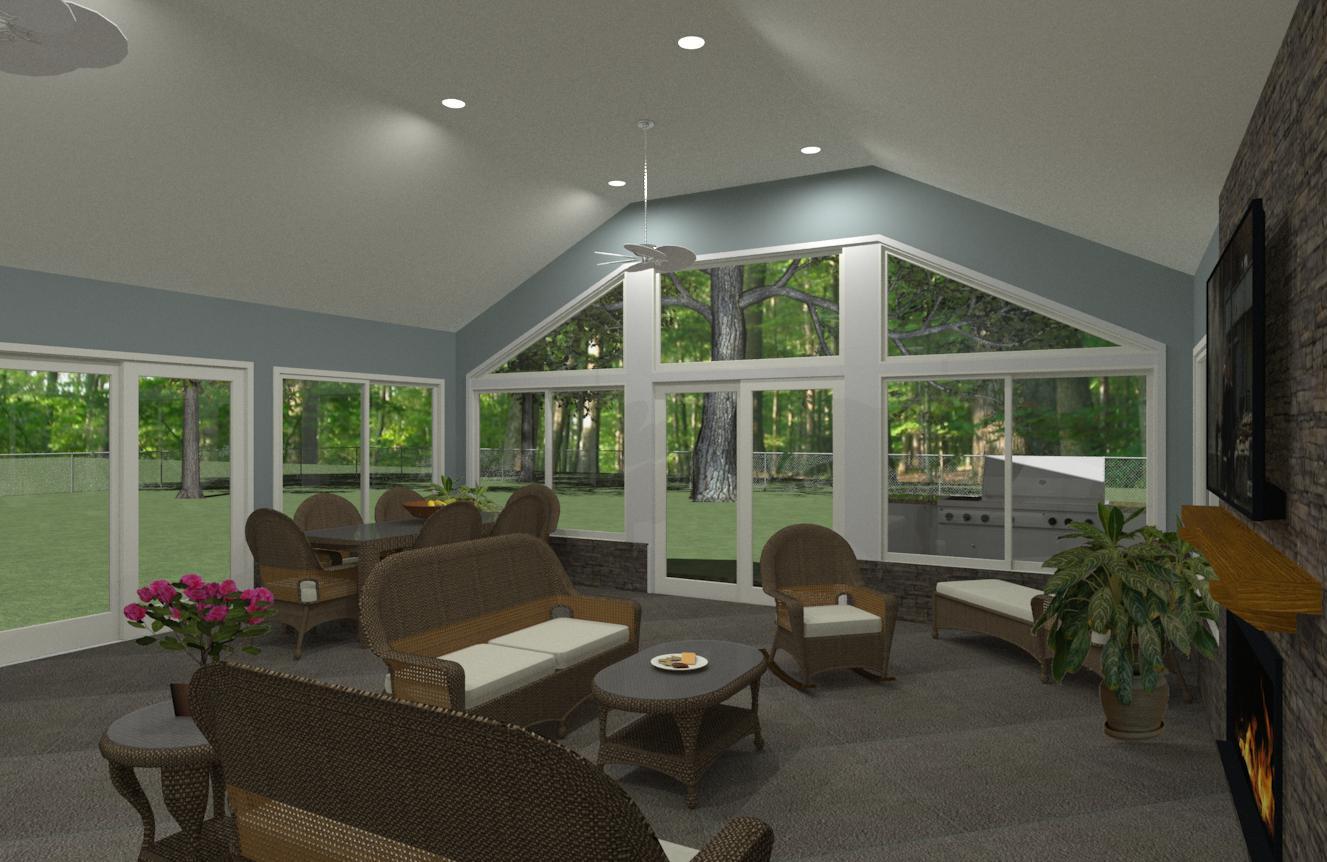 Outdoor Living Space In Morristown NJ Plan 1 2 Design Build Pros