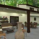 Outdoor Living Space in Morristown NJ Plan 2 (3)-Design Build Planners