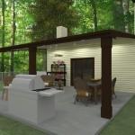 Outdoor Living Space in Morristown NJ Plan 2 (4)-Design Build Planners