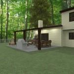 Outdoor Living Space in Morristown NJ Plan 2 (5)-Design Build Planners