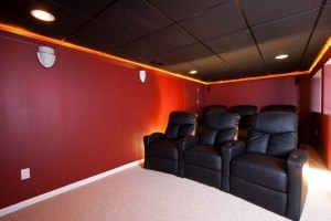 sound proofing for a home theater - Design Build Planners