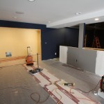 Basement Remodel in Bridgewater In Progress 8-6-2015 (8)
