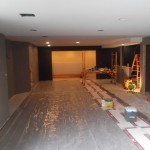 Basement Remodel in Bridgewater NJ In Progress 7-15-15 (1)