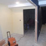 Basement Remodel in Bridgewater NJ In Progress 7-15-15 (11)