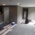 Basement Remodel in Bridgewater NJ In Progress 7-15-15 (21)