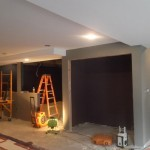 Basement Remodel in Bridgewater NJ In Progress 7-15-15 (3)