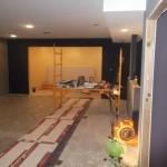 Basement Remodel in Bridgewater NJ In Progress 7-15-15 (7)