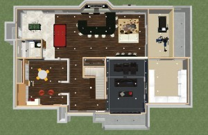 Luxury Basement Designs in NJ Dollhouse Overview-Design Build Pros