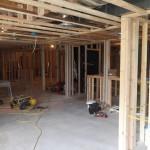 Luxury Basement in Bridgewater NJ In Progress 5-31-2015 (2)