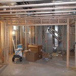 Luxury Basement in Bridgewater NJ In Progress 5-31-2015 (6)