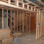 Luxury Basement in Bridgewater NJ In Progress 5-31-2015 (8)