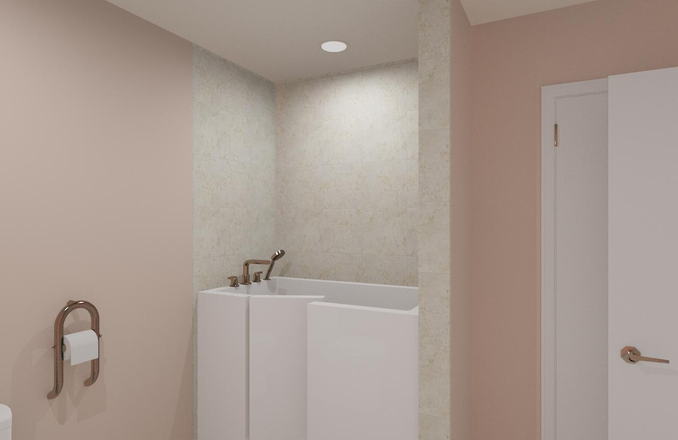Accessible Bathroom In West Orange Nj Design Build Pros