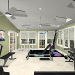 Exercise Room Remodel in Middlesex County CAD (2)