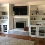 Fireplace and Shelf Renovation (2)