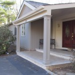 Front Entry Portico in Scotch Plains New Jersey (3)-Design Build Planners