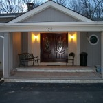 Front Entry Portico in Scotch Plains New Jersey (6)-Design Build Planners
