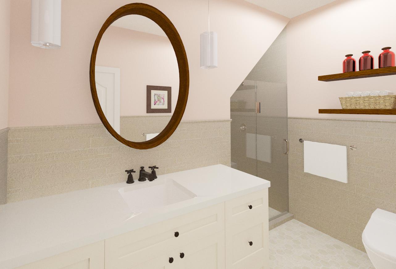 Master and Hall Bathroom Designs in Warren, NJ - Design Build Planners