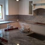 Kitchen Remodel and Reconfiguation in Warren NJ In Progress 8-20-15 (17)